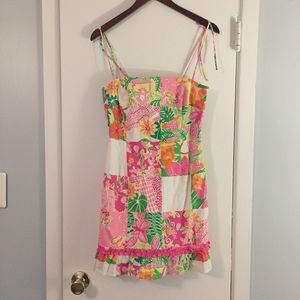 Lilly Pulitzer Patchwork Dress